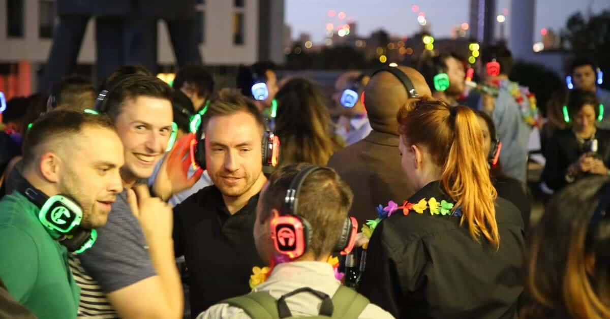Silent Disco Events in London