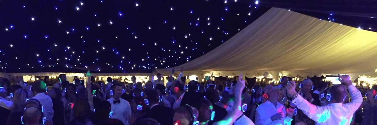 Silent disco for weddings