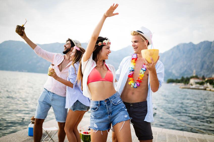 seaside party theme
